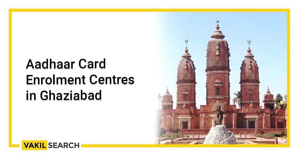 Aadhar card center in Vaishali Ghaziabad