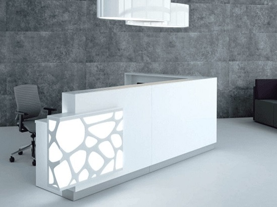 Purchase Cost Effective L shaped Reception Desk