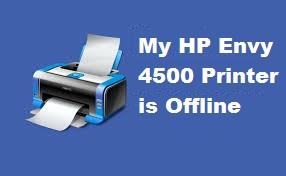 Why is my HP Envy 4500 Printer Offline