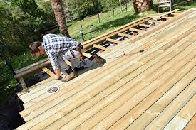 Why Choose Four Services For Your Timber Decking