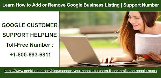 Add or Remove Business Listing on Google Map | Google Support Number