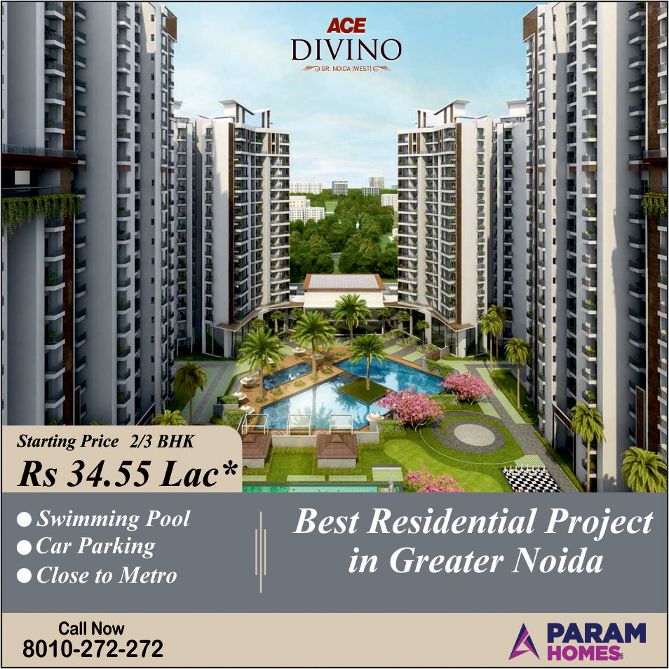 Ace Divino - Best Residential Projects in Noida Extension