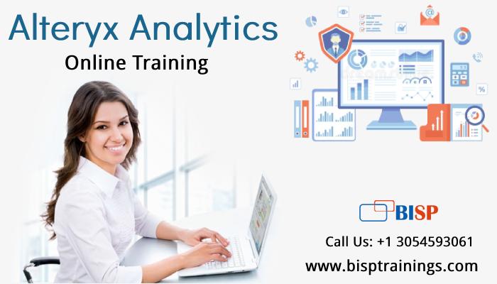 Alteryx Analytics Online Training