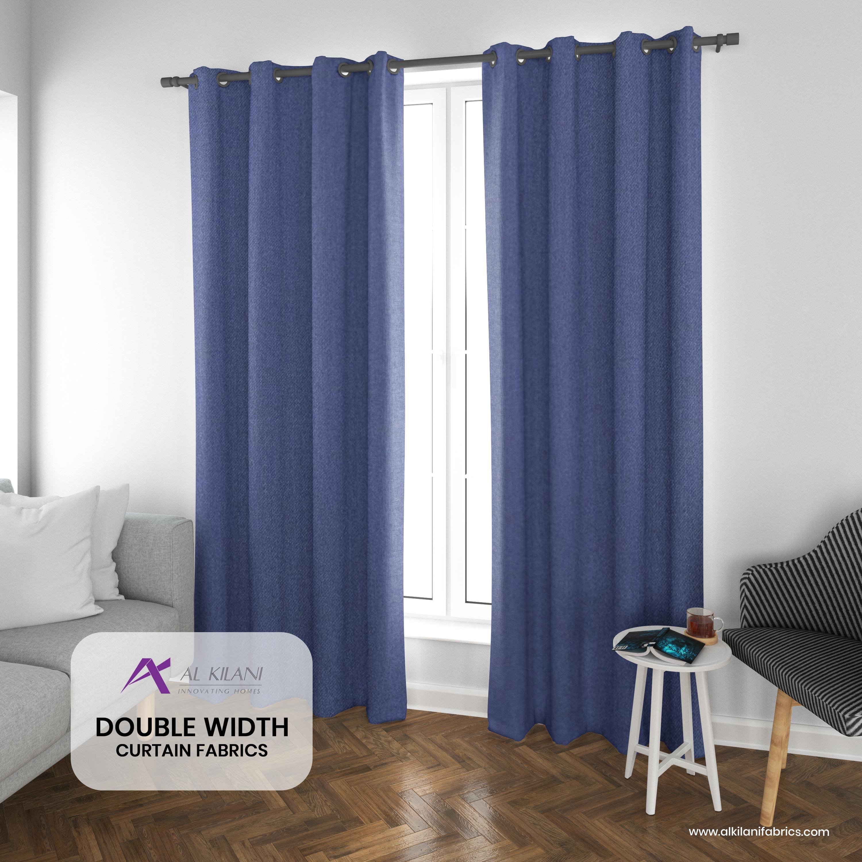 Double Width Curtain Fabrics