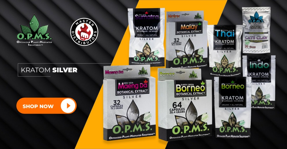 Your Online Shop Now Open for OPMS Wholesale Kratom Products