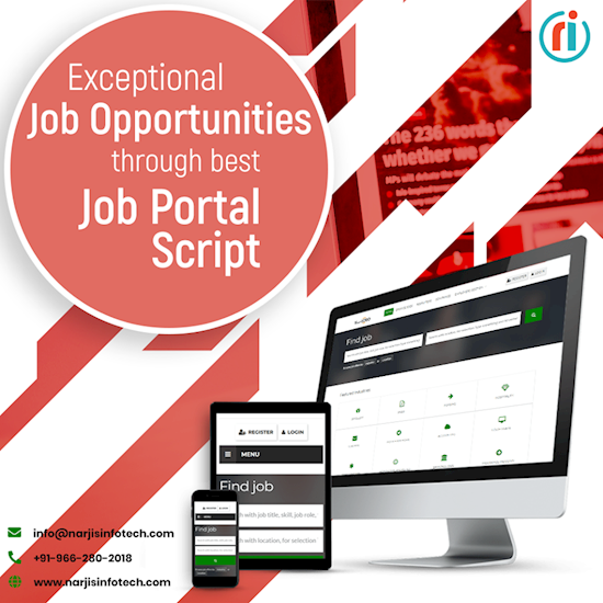 Get the best Job Portal website at a very low price