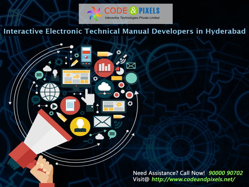 Interactive Electronic Technical Manual Services Levels in Hyderabad