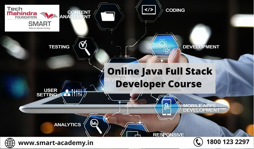 Best Full Stack Java Developer Course | Tech Mahindra SMART Academy