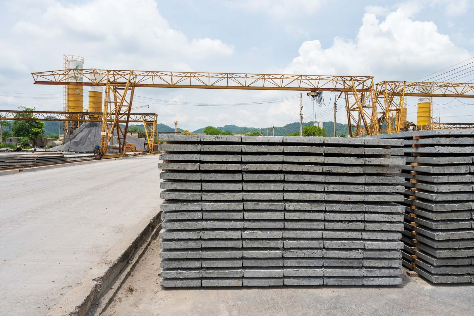 Hollow Core, Precast Slab, Building Construction
