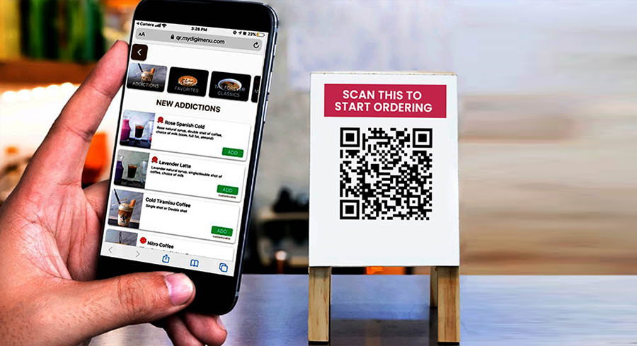 Get Enable the Best Self Ordering App for Restaurant in India! Caflogi