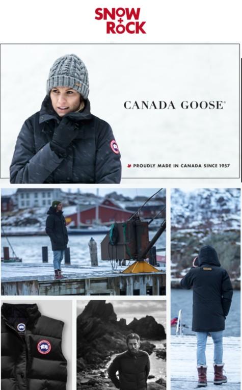 Brand Focus – Canada Goose Canary Wharf