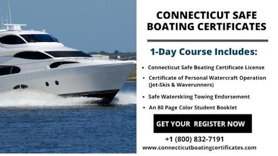Get Connecticut Boating Course In Southbury