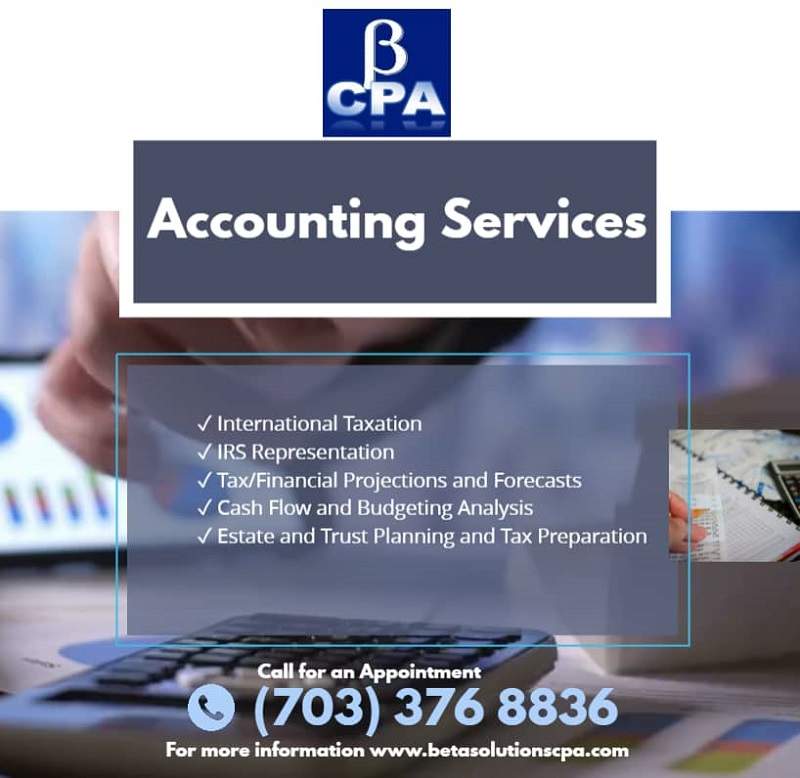 Best Accounting Services in Tysons, Virginia | Beta Solutions CPA
