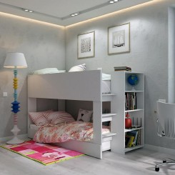Fitting Furniture Offers Bunk Bed With Desk For Compact Spaces
