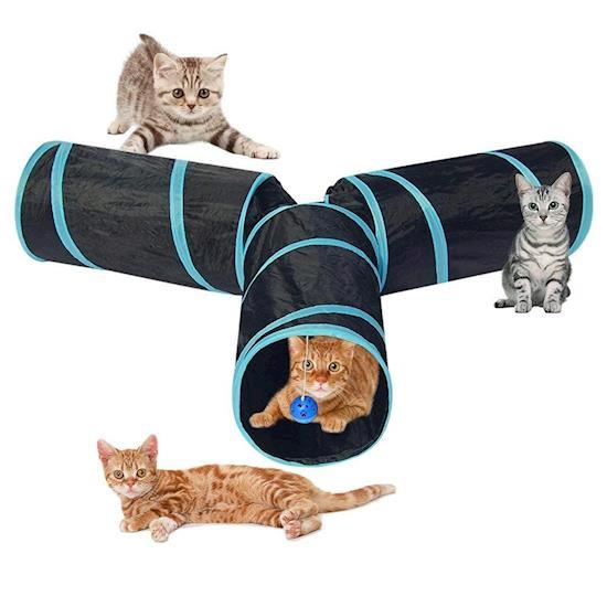 Best Indoor & Outdoor Foldable Cat Play Tunnel Tube