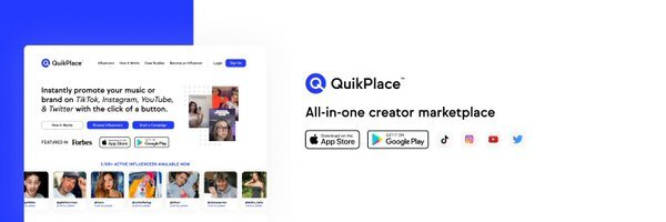 QuikPlace - Influencer Marketplace for Top Brands