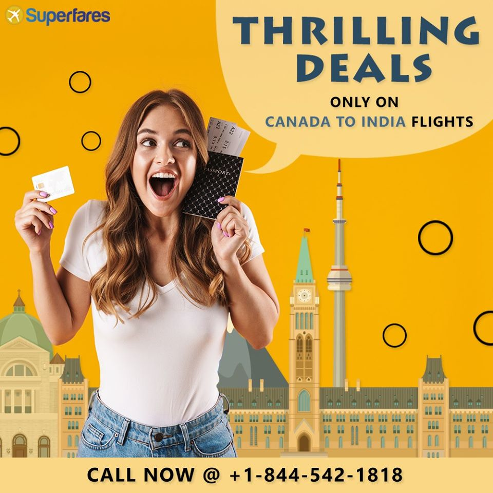 Book Affordable Canada to India flights