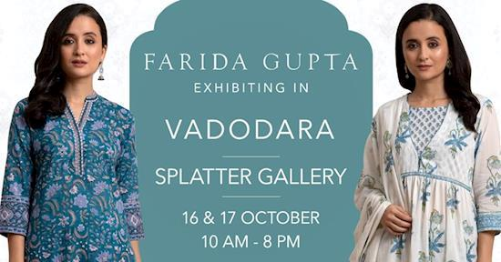 Farida Gupta Vadodara Exhibition