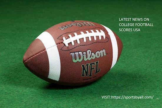 Latest News On College Football Scores USA