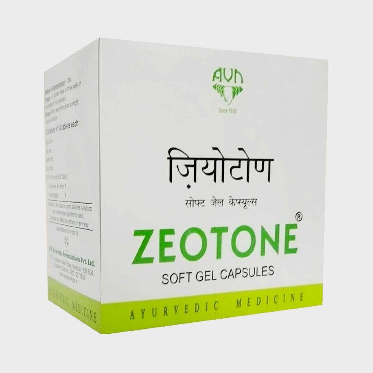 AVN Zeotone Plus Soft Gel Capsules Price in India