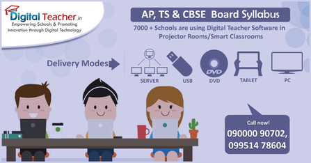 Smart Class for CBSE; Andhra Pradesh & Telangana State Board
