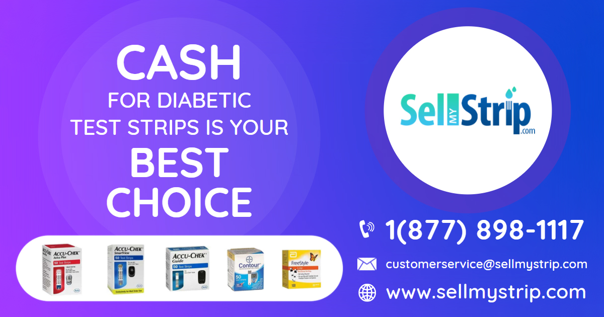 Sell Your Diabetic Test Strips For Cash In USA