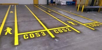Factory and Warehouse Line Marking Melbourne