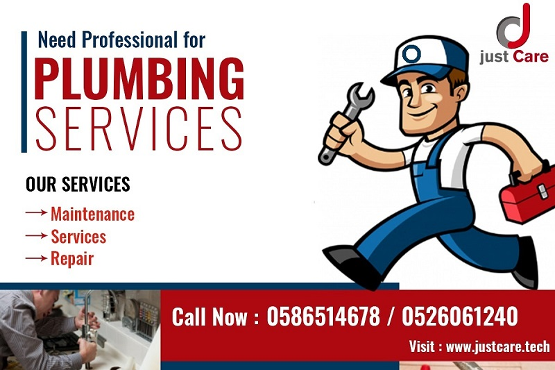 Plumbing Services Company in Dubai | Just Care:0586514678