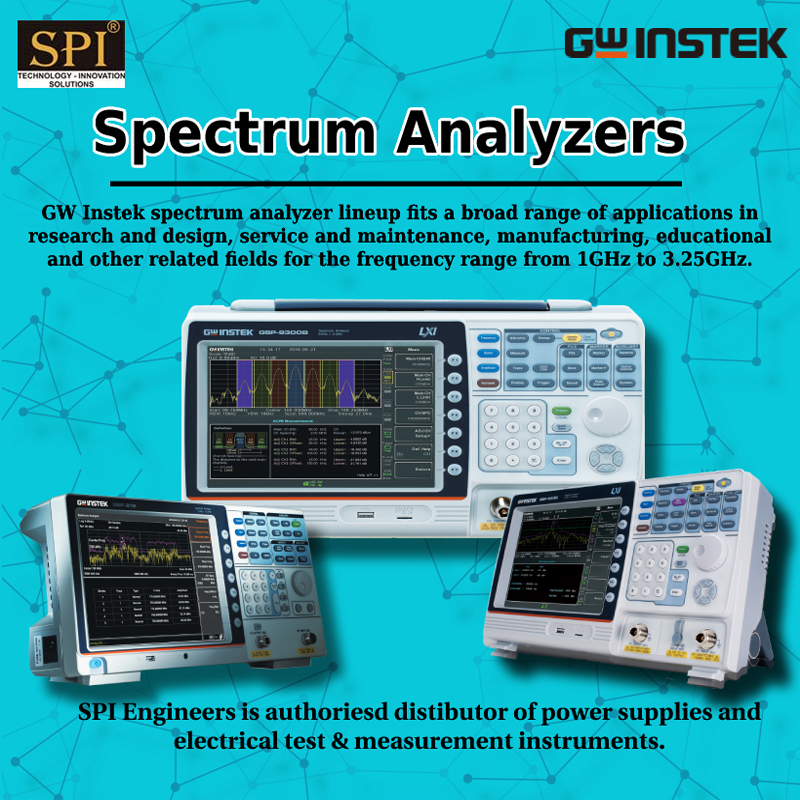 GW Instek Spectrum Analyzer at competitive prices