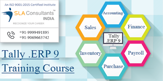 Attend Tally ERP 9 Training Course in Gurgaon at SLA Consultants Gurgaon