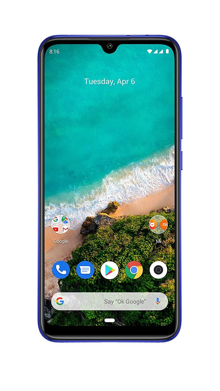 Xiaomi MI A3 Mobile (Not Just Blue, 6GB RAM, 128GB Storage)
