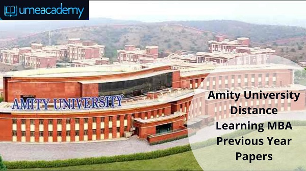 Amity University Distance Learning MBA Previous Year Papers
