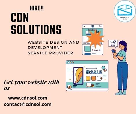Website Design and Development Service Provider – CDN Solutions