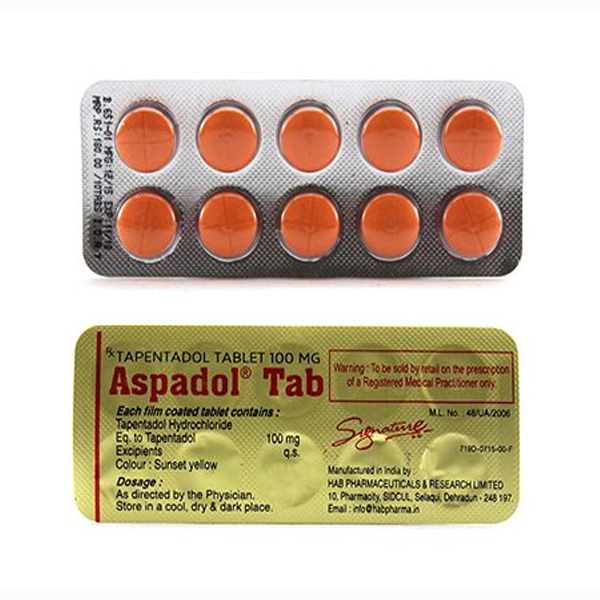 How to buy Tapentadol 100 mg Tablet online
