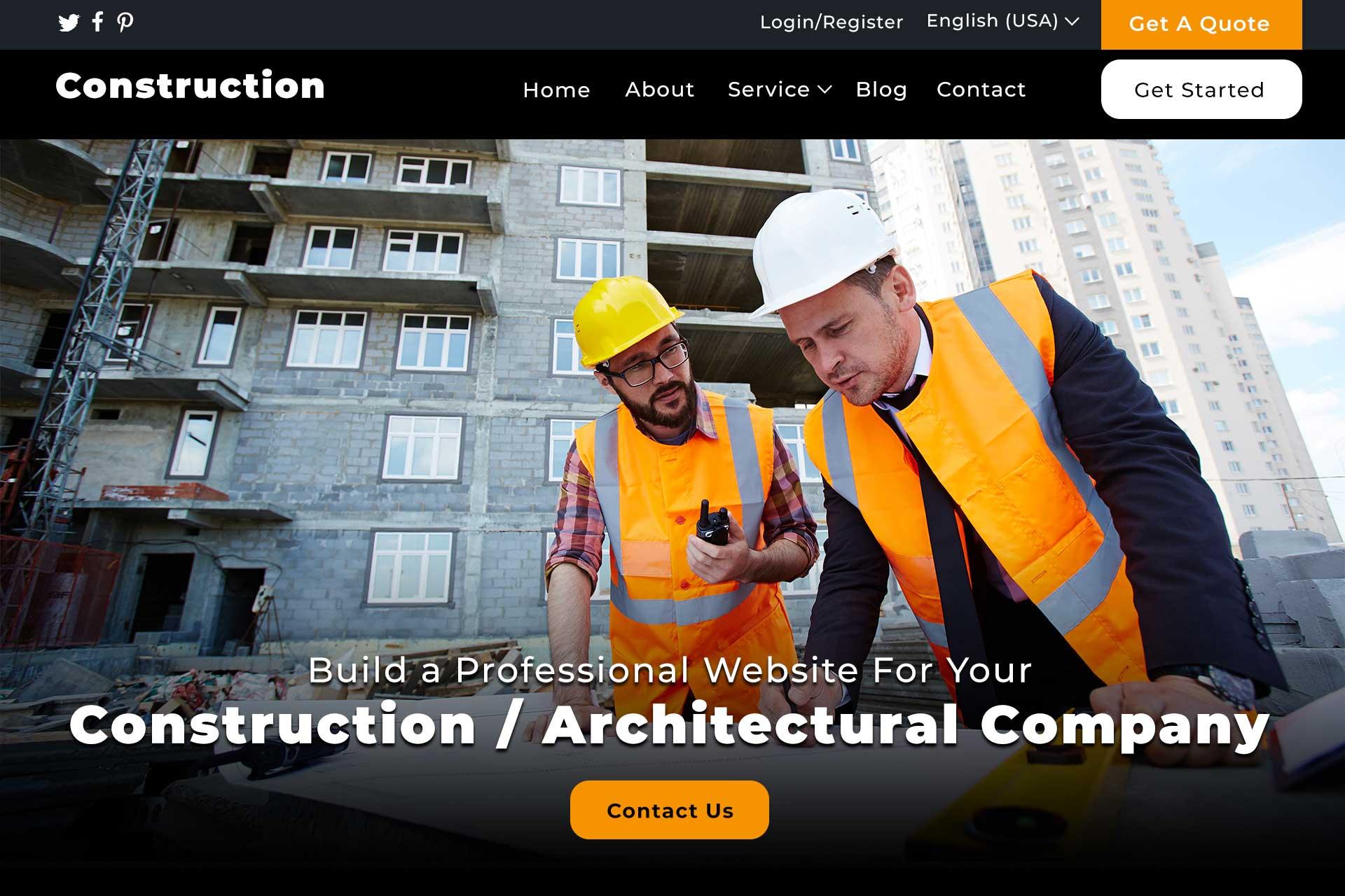 construction-company-website