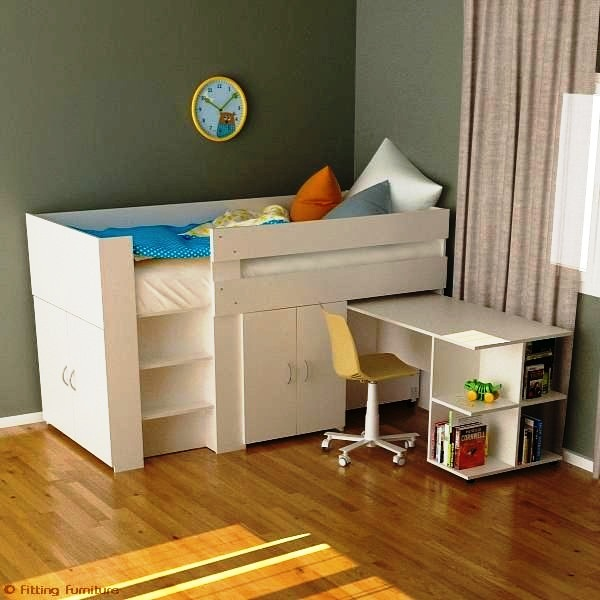 Fitting Furniture: Get Comfortable and Stylish Loft Bed Here