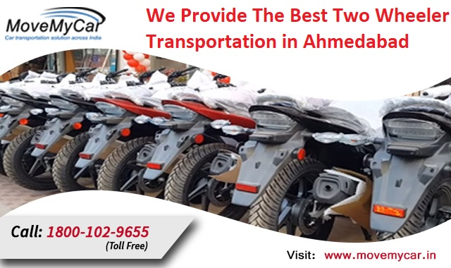 Are You Looking For Two Wheeler Transportation Services Companies in Ahmedabad?