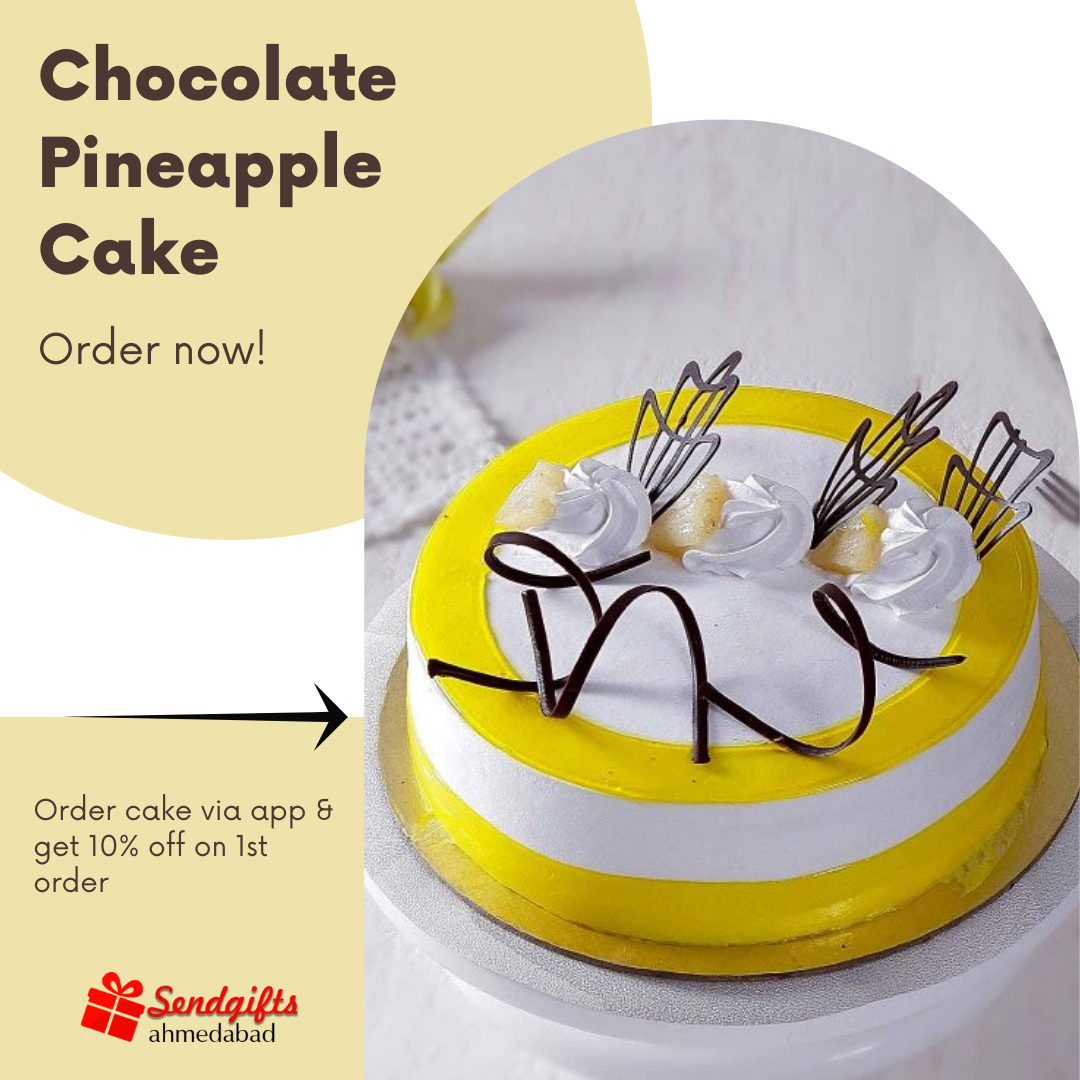 Online Cake Delivery in Ahmedabad for every occasion | Sendgifts Ahmedabad