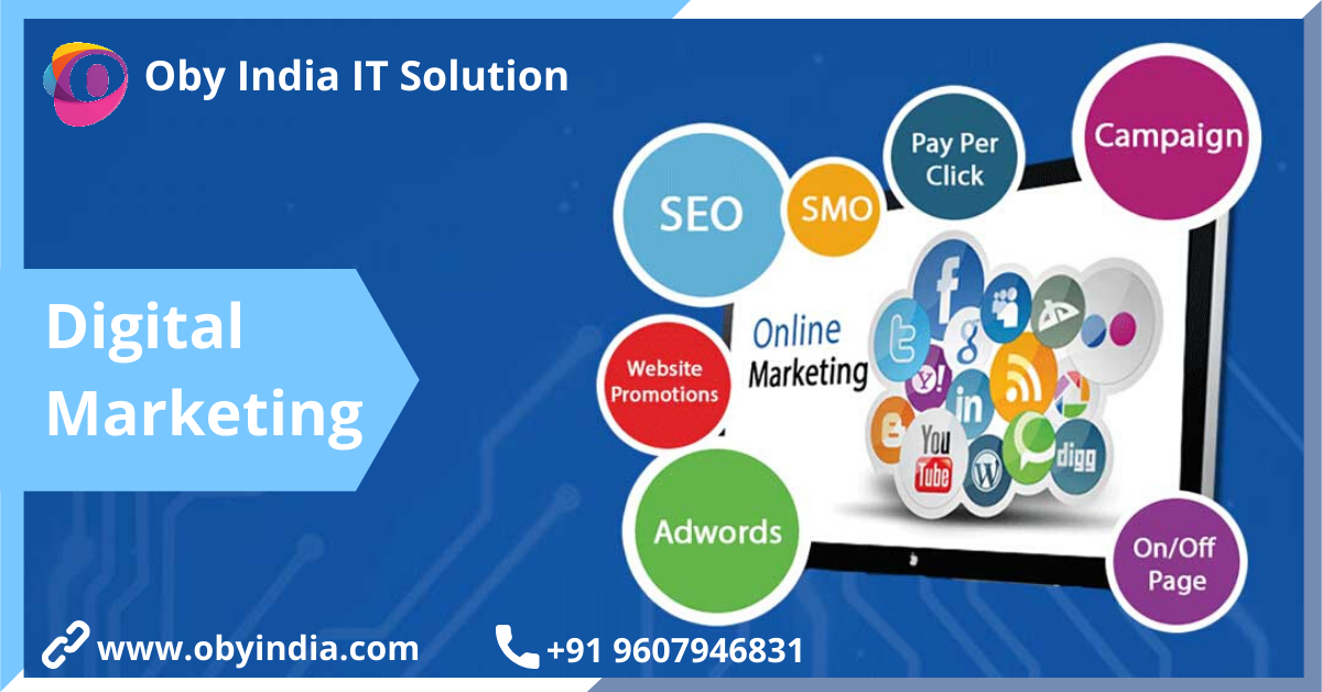 Digital Marketing And Website Development Company in Pune-OBY India It Solution