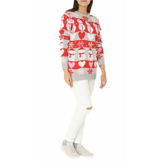 Womens Christmas Jumper Knitted Novelty Retro Sweater in 5 pounds only