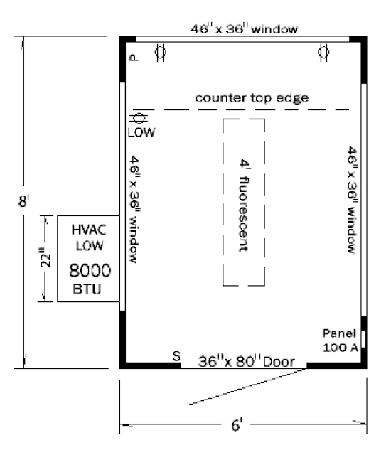Guard House Design Layout