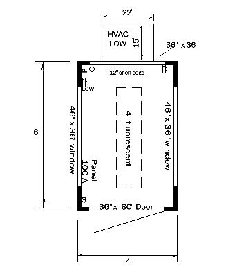 Guard House Layout Plan