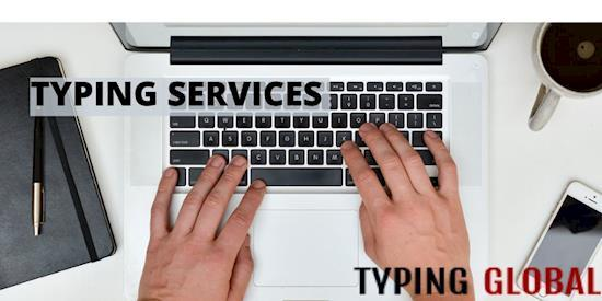 Professional Typing Services with Affordable Rates