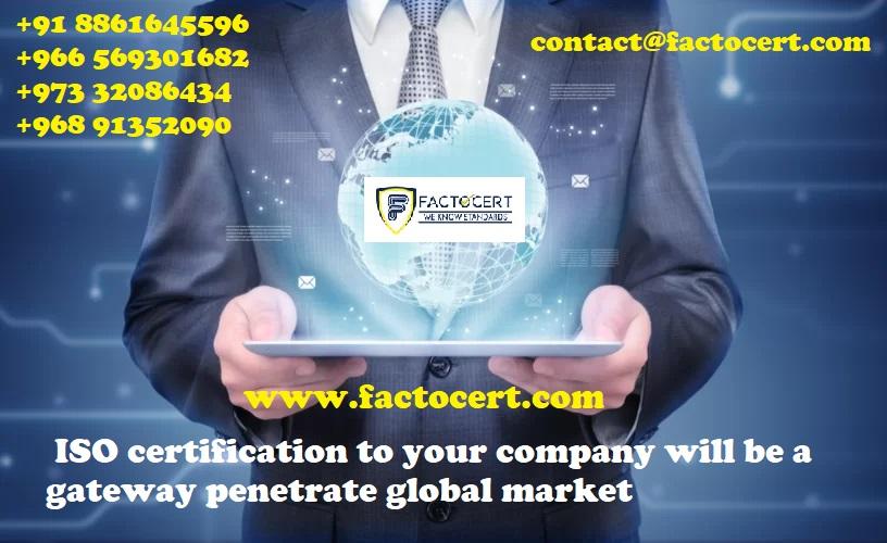 Factocert | ISO Certification Services in Jordan