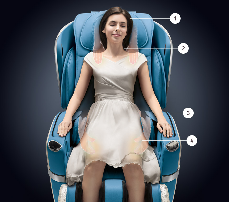 uLove 2 - Best Massage Chair for Neck and Shoulders