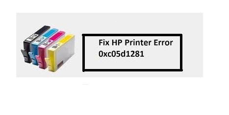 HP Printer Error Code 0xc05d1281 - How to Fix