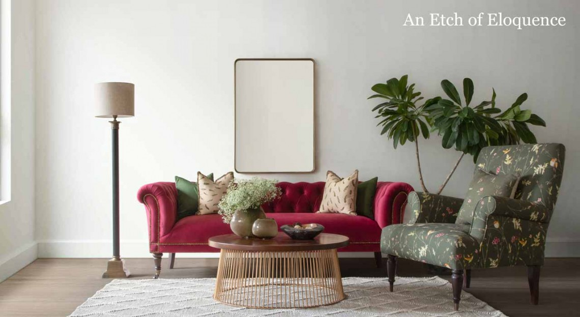 Fabric Sofa Online - Gulmohar Lane