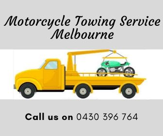 Emergency Motorcycle Towing in Melbourne