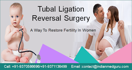 Affordable Cost Tubal Ligation Reversal Surgery at Top Hospitals in India