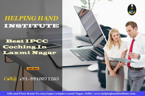 Best IPCC Coaching In Laxmi Nagar - HELPING HAND INSTITUTE
